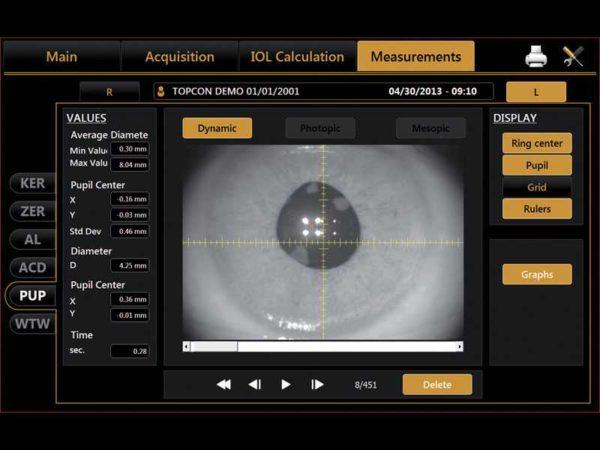 Topcon Aladdin Biometer and Corneal Topographer HW3.0 a