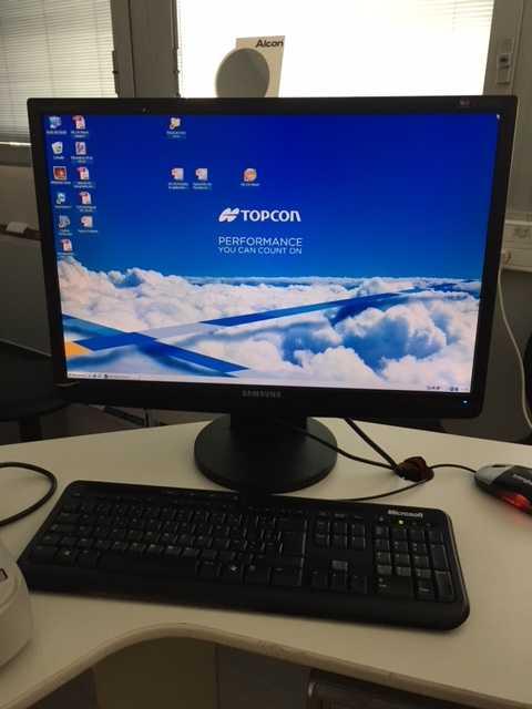 Topcon KR-1W Wavefront Analyzer c