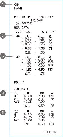 Topcon KR-800PA Auto Refractor e