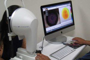Optical Corneal Topography Work